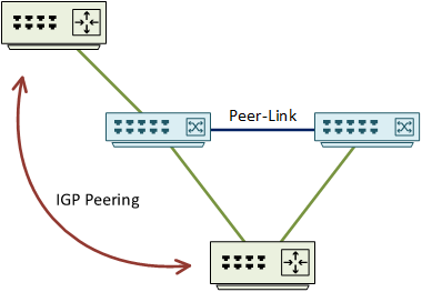 vPC and Routing Protocols - Network Direction